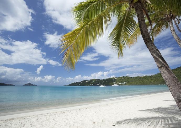 St. Thomas' Magens Bay Beach