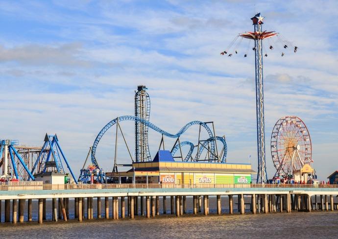 Galveston's Pleasure Pier
