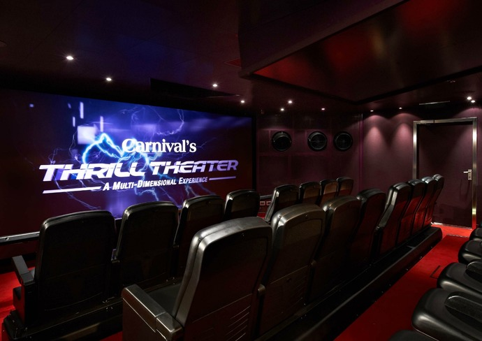 Thrill Theater on Carnival Breeze
