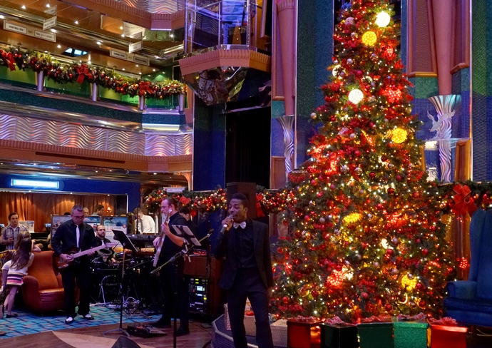 Christmas on Carnival Glory