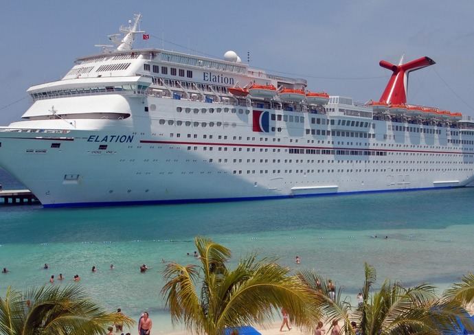 Carnival Elation in Grand Turk
