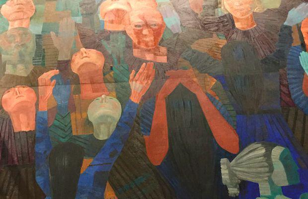 Candido Portinari's War mural at the UN