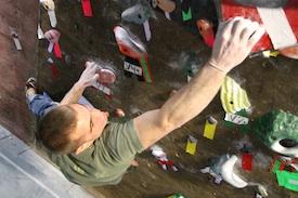 Brooklyn Boulders Climbing Wall