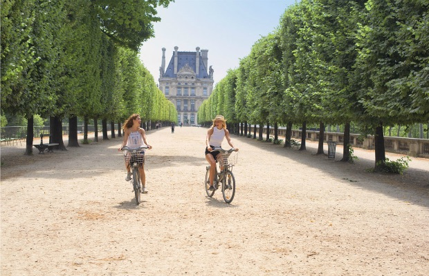 Bike excursion in Paris
