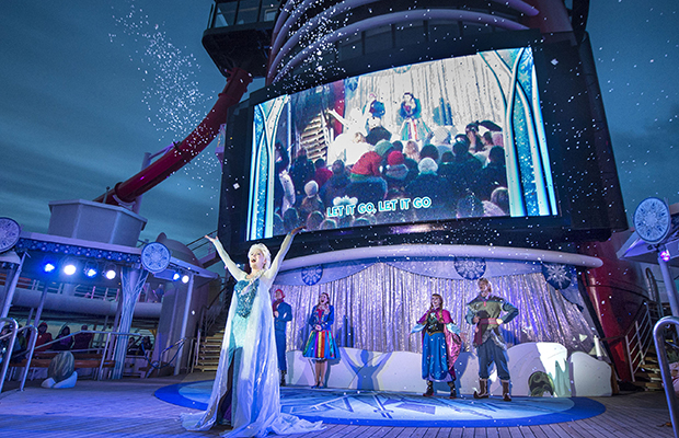 """""""Freezing the Night Away with Anna, Elsa and Friends"""""""