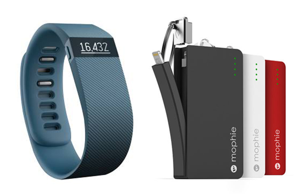 Fitbit; Mophie
