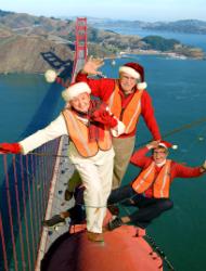 Golden Gate Bridge green screen