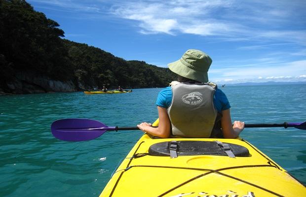 Sea Kayaking in Nelson