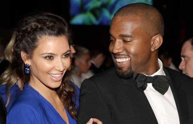 Kim and Kanye Skip Security