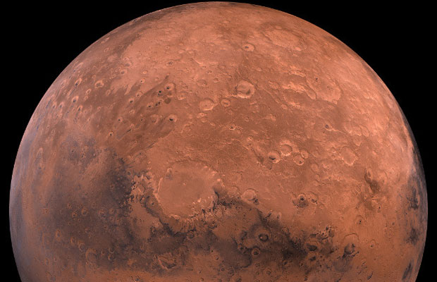Couple to Fly to Mars
