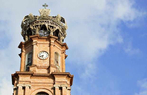 Nuestra Señora de Guadalupe church from iStock