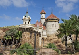 Prince Eric Walt Disney World Castle