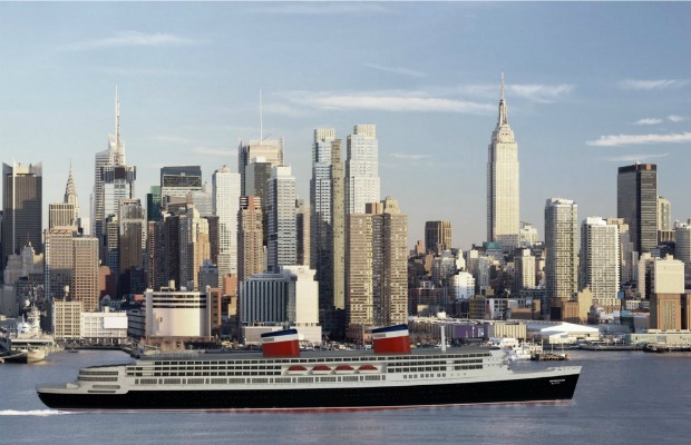 Rendering of <em>SS United States<