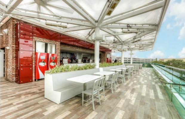 Rooftop at Coca-Cola Store Orlando