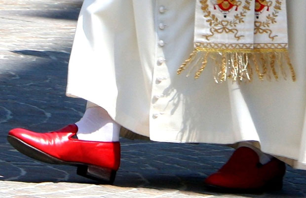 New Pope's Slippers