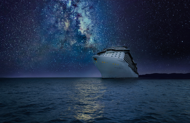 Stargazing at Sea