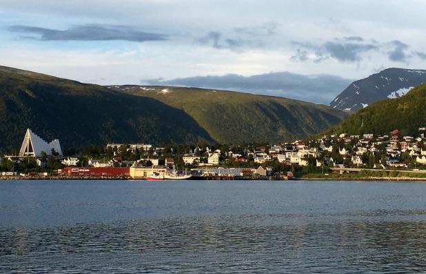 Tromso, Norway at 11pm