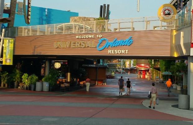 Universal Orlando Resort entrance