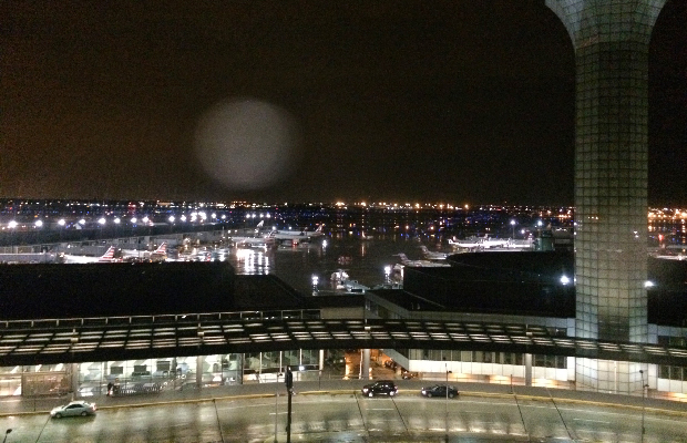 View from Hilton Chicago O'Hare Airport