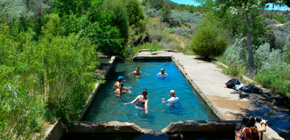 Hot Springs in New Mexico