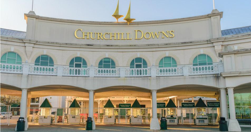 Churchill Downs enterance