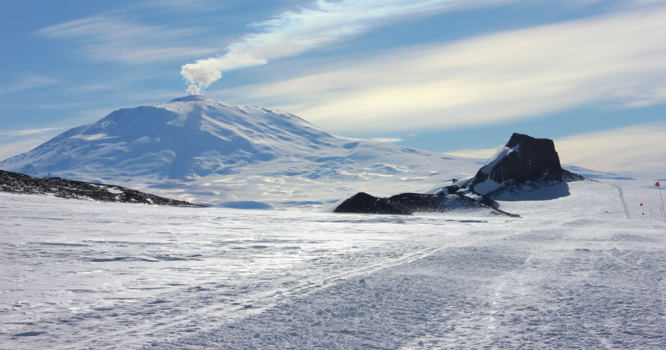 Inspired Travel: Mount Erebus Ice Towers | ShermansTravel