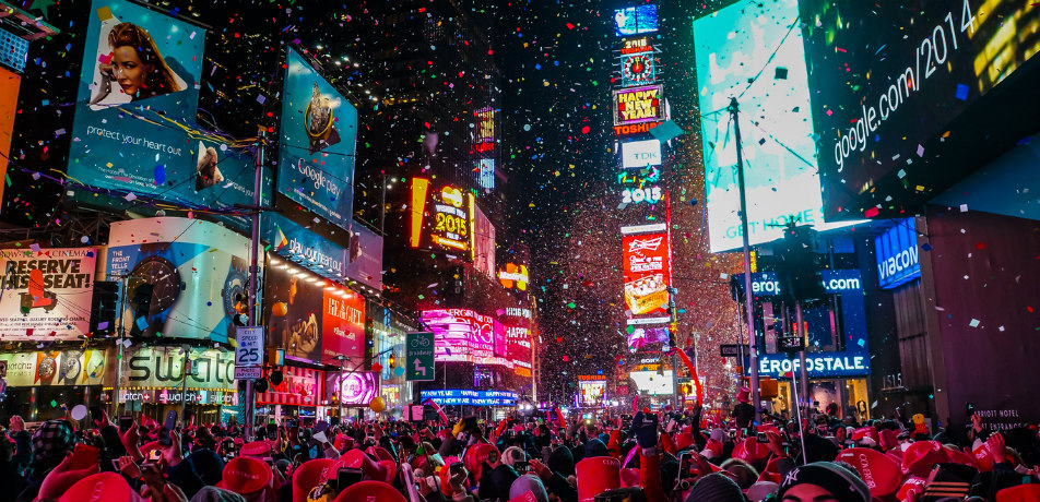 New Years' Eve - Times Square, NYC