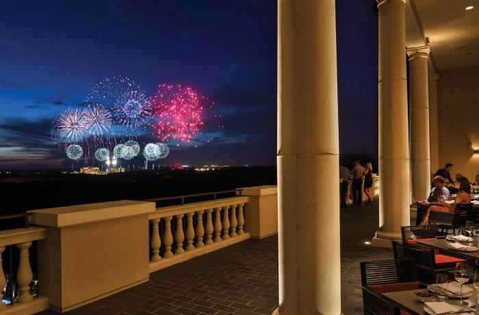 Fireworks from Capa, Four Seasons Resort Orlando at Walt Disney World Resort