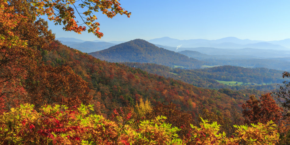 North Carolina in Fall