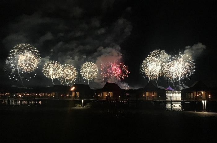 View from Disney's Polynesian Village Resort