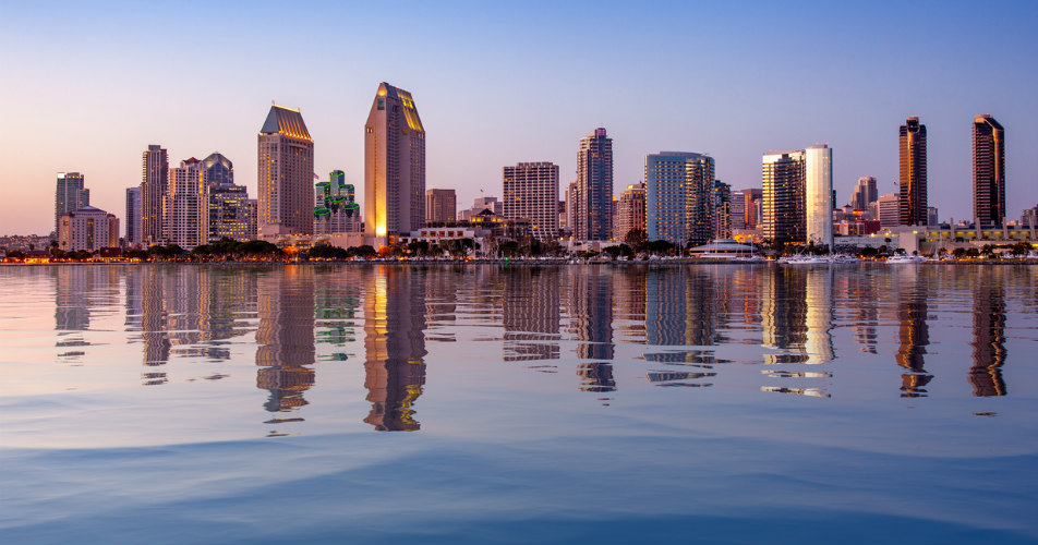 San Diego waterfront