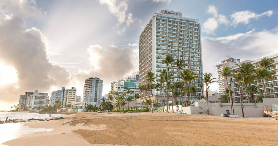 San Juan Marriot Resort & Stellaris Casino, Puerto Rico