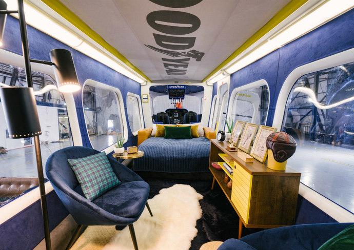 Goodyear Blimp interior