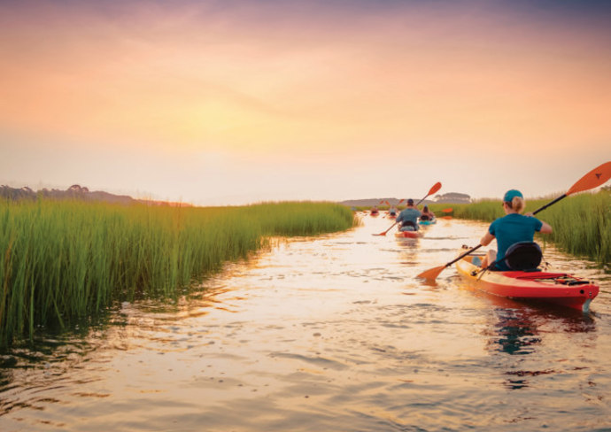 Kayaking in Myrtle Beach