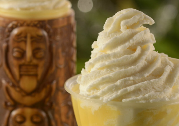 DOLE Whip with Tiki Sipper at Pineapple Lanai