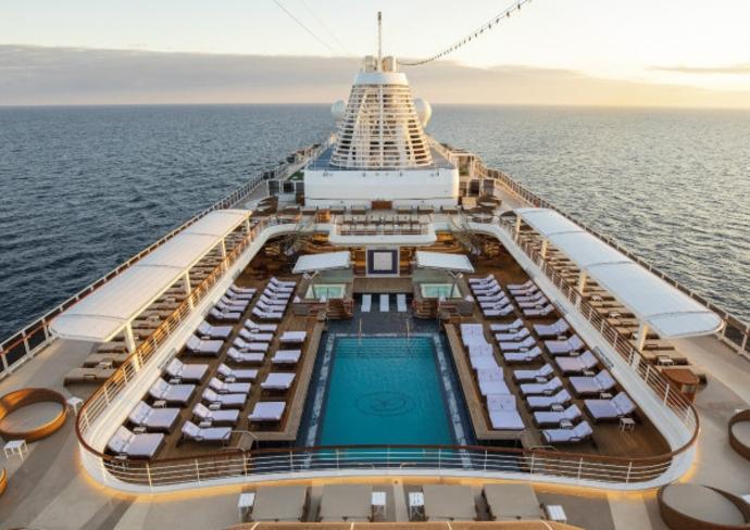 Regent Seven Seas Splendor Pool Deck