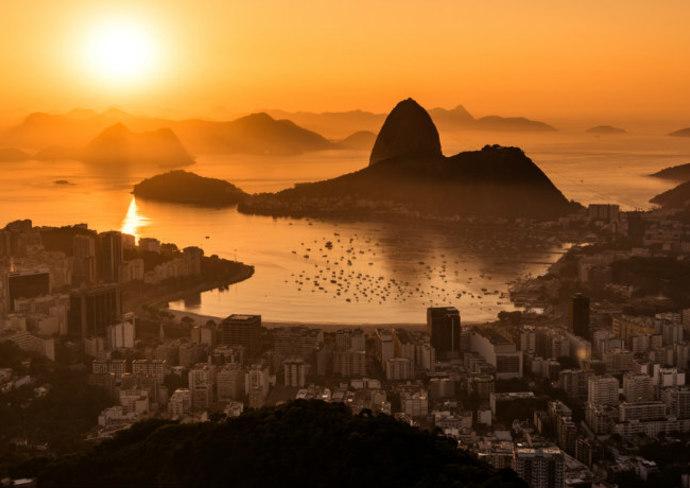 Rio at sunrise