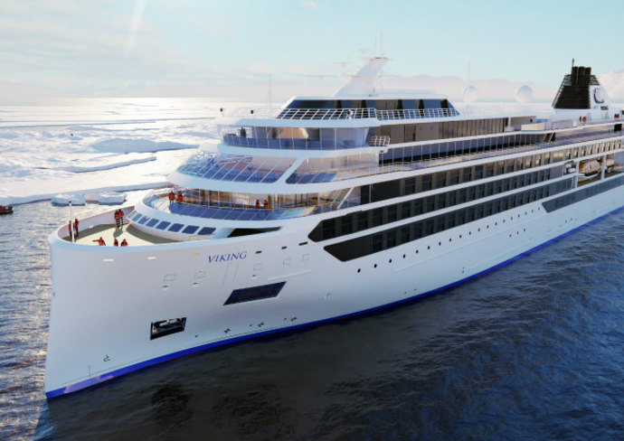 Viking Expedition Ship - Rendering
