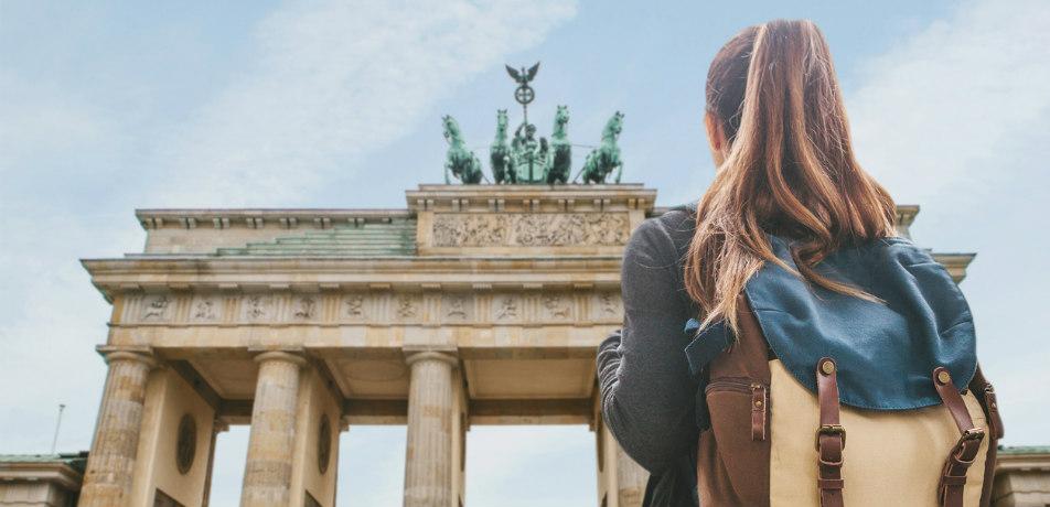 Traveler in Berlin